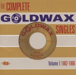 COMPLETE GOLDWAX VOL.1.. .. SINGLES VOL.1 // 1962-1966 Audio CD, V/A, CD