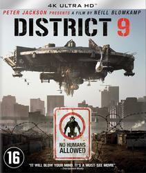 District 9, (Blu-Ray 4K...