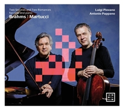 BRAHMS: TWO SONATAS FOR.....