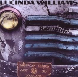 RAMBLIN' Audio CD, LUCINDA WILLIAMS, CD
