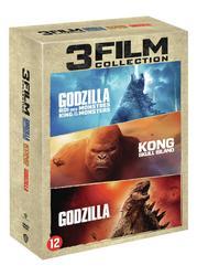 Godzilla 1 & 2/ Kong, (DVD)