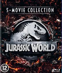 Jurassic park 1-5, (Blu-Ray)