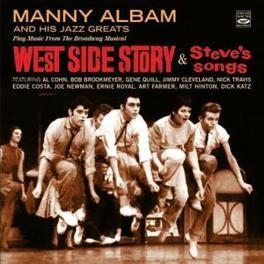 WEST SIDE STORY/STEVE'S.. .. SONGS - 2 LP'S ON 1 CD Audio CD, MANNY ALBAM, CD