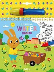 Kleuren met water - Pasen
