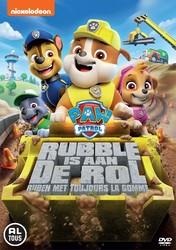 Paw patrol - Rubble is aan de rol, (DVD)
