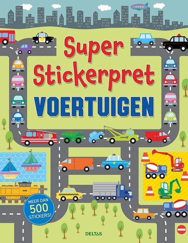 Super Stickerpret Voertuigen. MAYES, SUSAN, Paperback