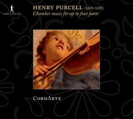 CHAMBER MUSIC FOR UP TO 4 ENSEMBLE CORDATE Audio CD, H. PURCELL, CD