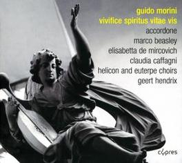 VIVIFICE SPIRITUS VITAE V HELICON & EUTERPE CHOIRS Audio CD, G. MORINI, CD