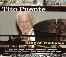 KING OF TIMBALES Audio CD, TITO PUENTE, CD