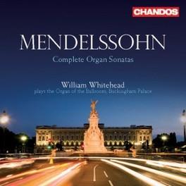 SIX ORGAN SONATAS OP.65 WHITEHEAD, WILLIAM Audio CD, MENDELSSOHN-BARTHOLDY, F., CD