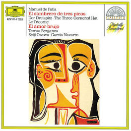 EL SOMBRERODE TRES PICOS BERGANZA/BSO/OZAWA/LSO/NAVARRO Audio CD, M. DE FALLA, CD