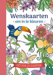 Wenskaarten om in te kleuren