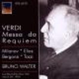 MESSA DA REQUIEM METROPOLITAN OPERA ORCHESTRA/BRUN WALTER 1959 Audio CD, G. VERDI, CD