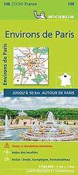 PARIS ENVIRONS 11106 CARTE...