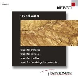 MUSIC FOR ORCHESTRA/SIX.. .. VOICES/HR-SINFONIEORCHESTER/KAIROS QUARTET/MASSON Audio CD, J. SCHWARTZ, CD