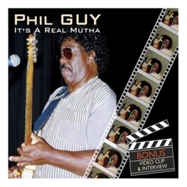 IT'S A REAL MUTHA 1985 ALBUM REISSUE Audio CD, PHIL GUY, CD