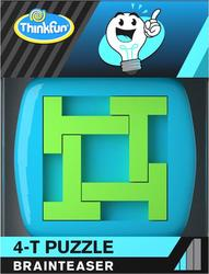 ThinkFun - A-HA! 4-T Puzzle