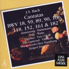 BACH CANTATAS Audio CD, JURGEN JURGENS, CD