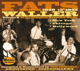 VOLUME 6 - COMPLETE.. .. RECORDINGS Audio CD, FATS WALLER, CD