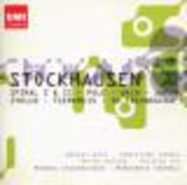 SPIRAL 1 & JAPAN MARKUS STOCKHAUSEN/PETER EOTVOS/HARALD BOJE Audio CD, K. STOCKHAUSEN, CD