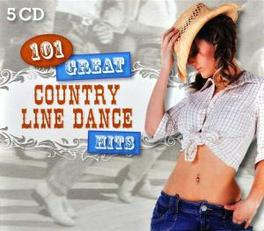 101 GREAT COUNTRY LINE.. .. DANCE HITS Audio CD, COUNTRY DANCE KINGS, CD