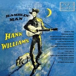 RAMBLIN' MAN HANK WILLIAMS, CD