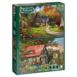 Falcon - Woodland Cottage (2x1000 stukjes)