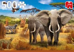 Premium Collection puzzel - African Savannah (500 stukjes)