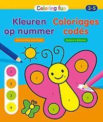Kleuren op nummer (3-5 j.)...