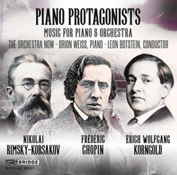 PIANO PROTAGONISTS WORKS BY...