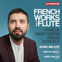 FRENCH WORKS FOR FLUTE...