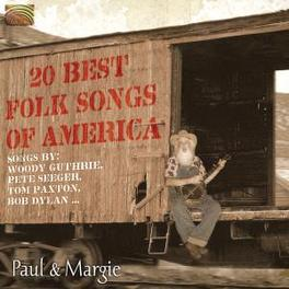 20 BEST FOLK SONGS OF.. .. AMERICA Audio CD, PAUL & MARGIE, CD