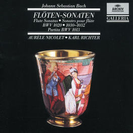 FLUTESONATE BWV 1013 NICOLET, A/RICHTER, K Audio CD, J.S. BACH, CD