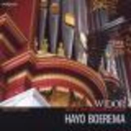 ORGAN SYMPHONIES NO.5 & 9 HAYO BOEREMA Audio CD, C.M. WIDOR, CD