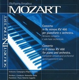CONCERTO IN D MINOR W.A. MOZART, CD