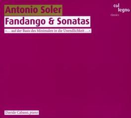 FANDANGO & SONATAS CABASSI, DAVIDE Audio CD, A. SOLER, CD