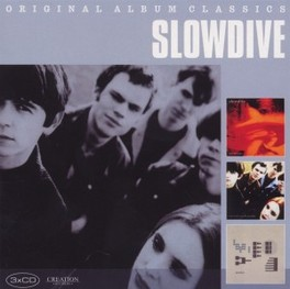 ORIGINAL ALBUM CLASSICS JUST FOR A DAY / SOUVLAKI / PYGMALION SLOWDIVE, CD