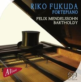 FANTASIA OP.28 RIKO FUKUDA Super Audio CD Hybride, MENDELSSOHN-BARTHOLDY, F., CD