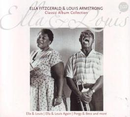 CLASSIC ALBUM COLLECTION Audio CD, ELLA/ARMSTRON FITZGERALD, CD