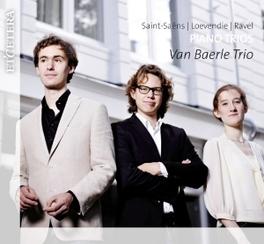 PIANO TRIOS WORKS BY SAINT-SAENS/LOEVENDIE/RAVEL VAN BAERLE TRIO, CD