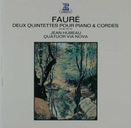 PIANO QUINTETS OP.89 & 11 JEAN HUBEAU Audio CD, G. FAURE, CD
