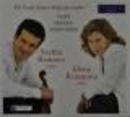 DE L'ECOLE FRANCO-BELGE.. YSAYE/FRANCK/SAINT-SAENS Audio CD, ROUSSEV, SVETLIN & ELENA, CD