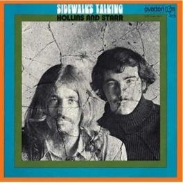 SIDEWALKS TALKING -LTD- 1970 FOLK PSYCH GEM W/4 CD ONLY BONUS TRACKS HOLLINS & STARR, CD