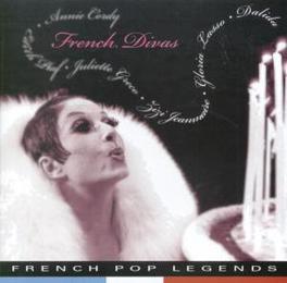 FRENCH DIVAS WDALIDA/EDITH PIAF/DOLORES/JULIETTE GRECO Audio CD, V/A, CD