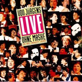 LIVE-OHNE MASKE Audio CD, UDO JURGENS, CD