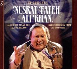 IN CONCERT Audio CD, NUSRAT FATEH ALI KHAN, CD