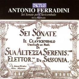 SEI SONATE PER CLAVICEMBA SILVIA RAMBALDI Audio CD, A. FERRADINI, CD
