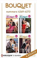 Bouquet e-bundel nummers 4269 - 4272