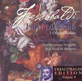 EDITION VOL.4:FIORI MU Audio CD, G.B. FRESCOBALDI, CD