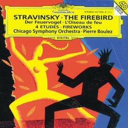 DER FEUERVOGEL/4 ETUEDEN CSO BOULEZ Audio CD, I. STRAWINSKY, CD